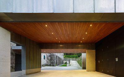 Taller artesanal en Armenteira finalista Premio Galego de Arquitectura